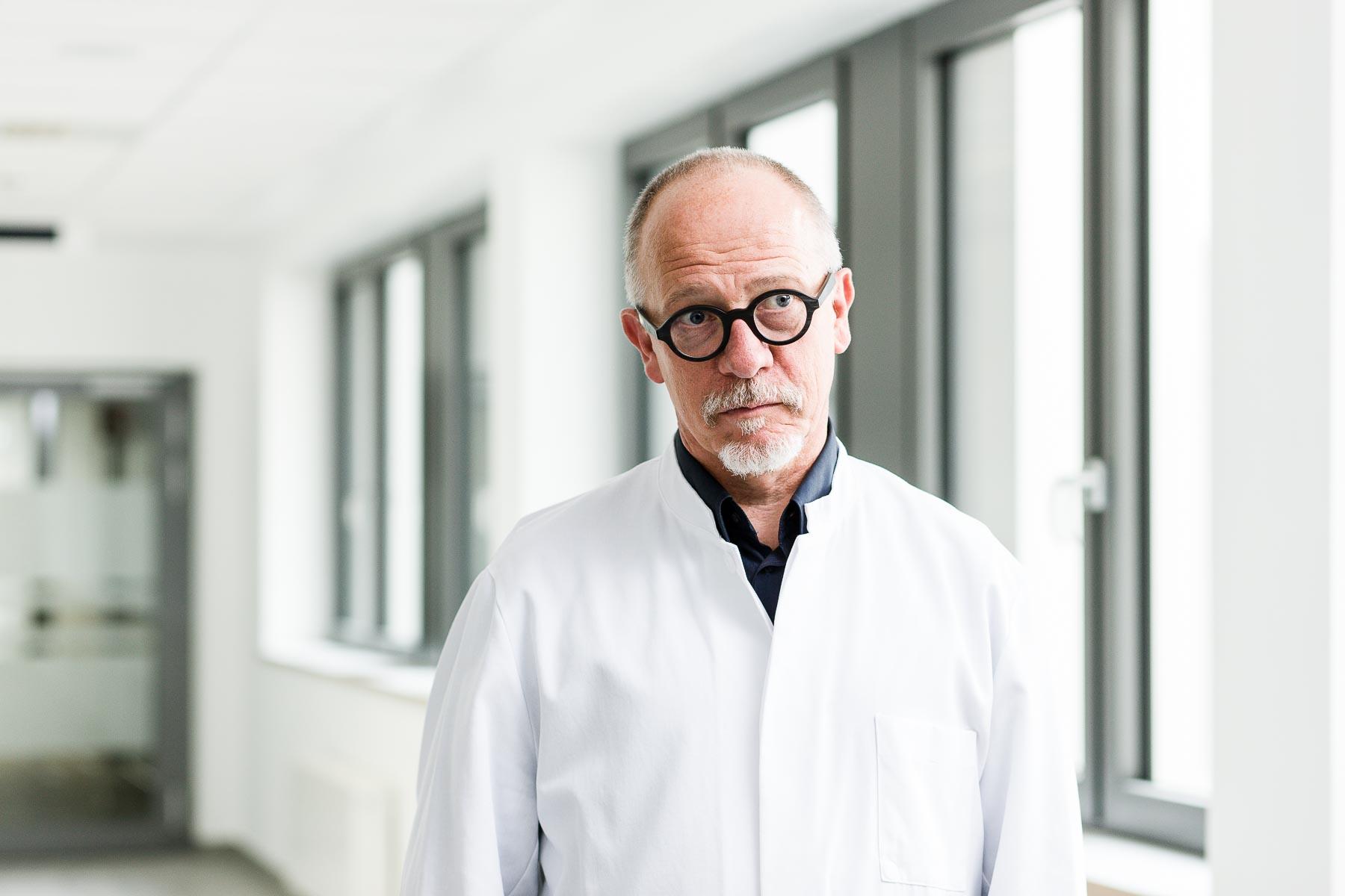 Portrait des Strahlentherapeuts im Evangelischen Krankenhaus Düsseldorf