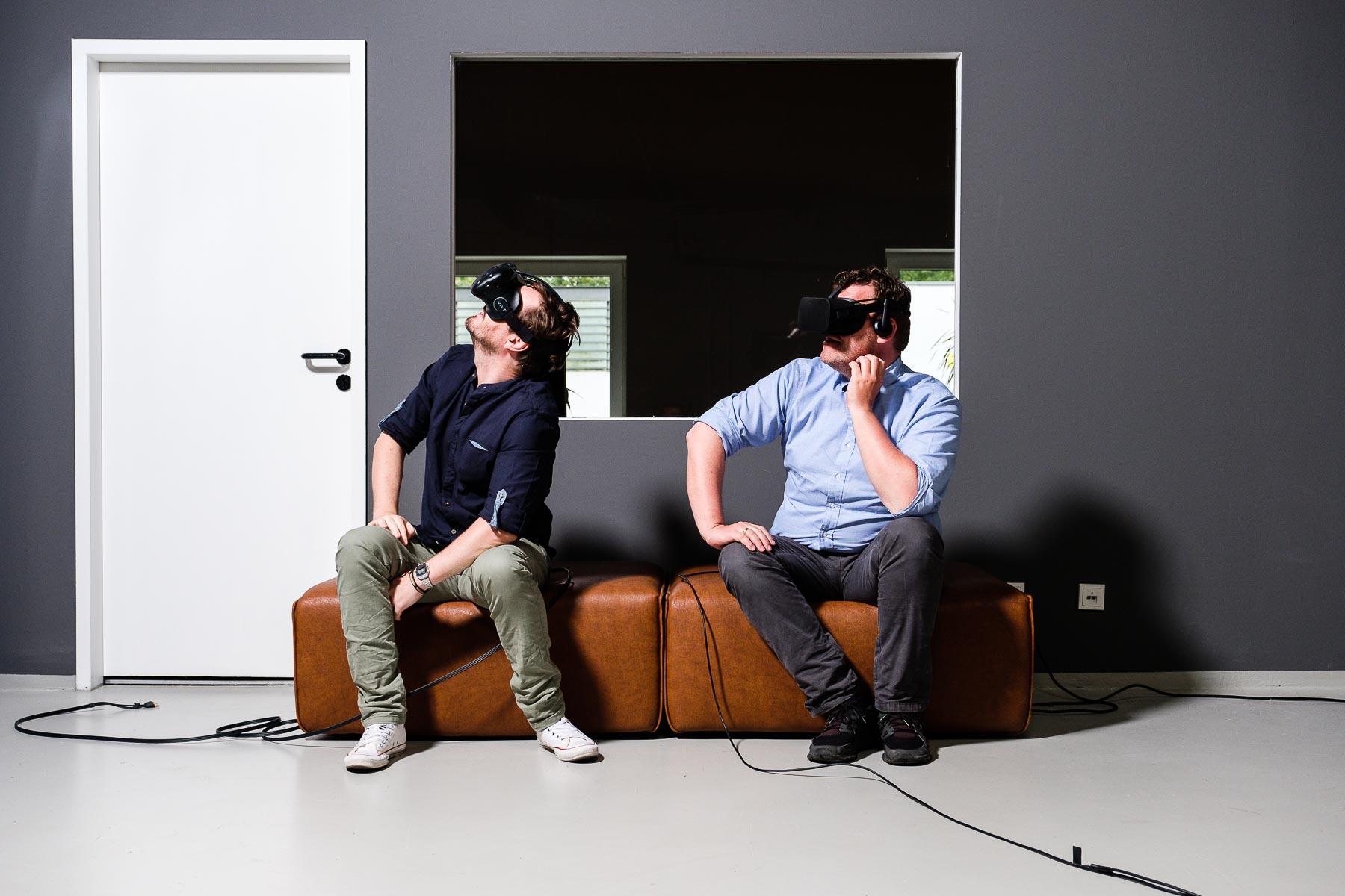 Die Virtualisierer von A4VR Jan Thiel und Michael Albrecht