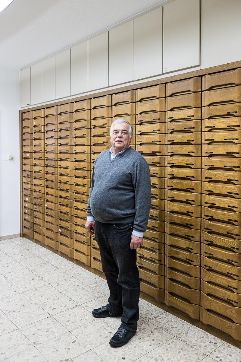 Der Apotheker Franz-Josef Cüppers
