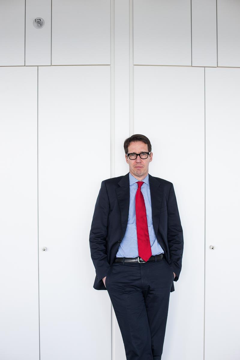 Das Mitglied des Vorstands der Ergo Versicherung Dr. Ulf Mainzer