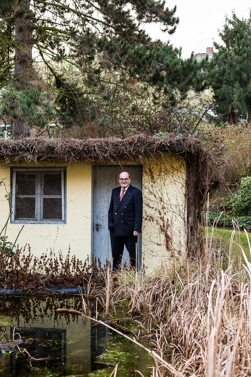 Der Architekt Wolfgang Franz