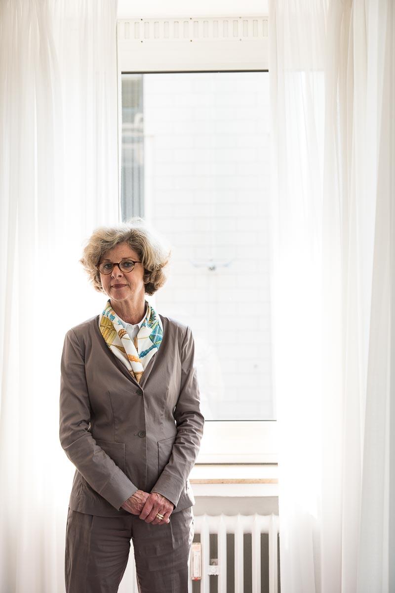 Die Geschäftsführerin des Industrie-Clubs Düsseldorf Heidi Schädlich