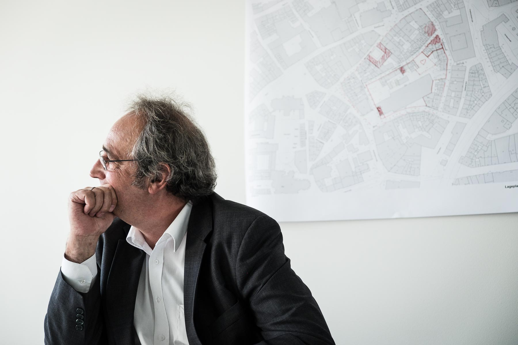 Der Architekt von RKW Matthias Pfeifer