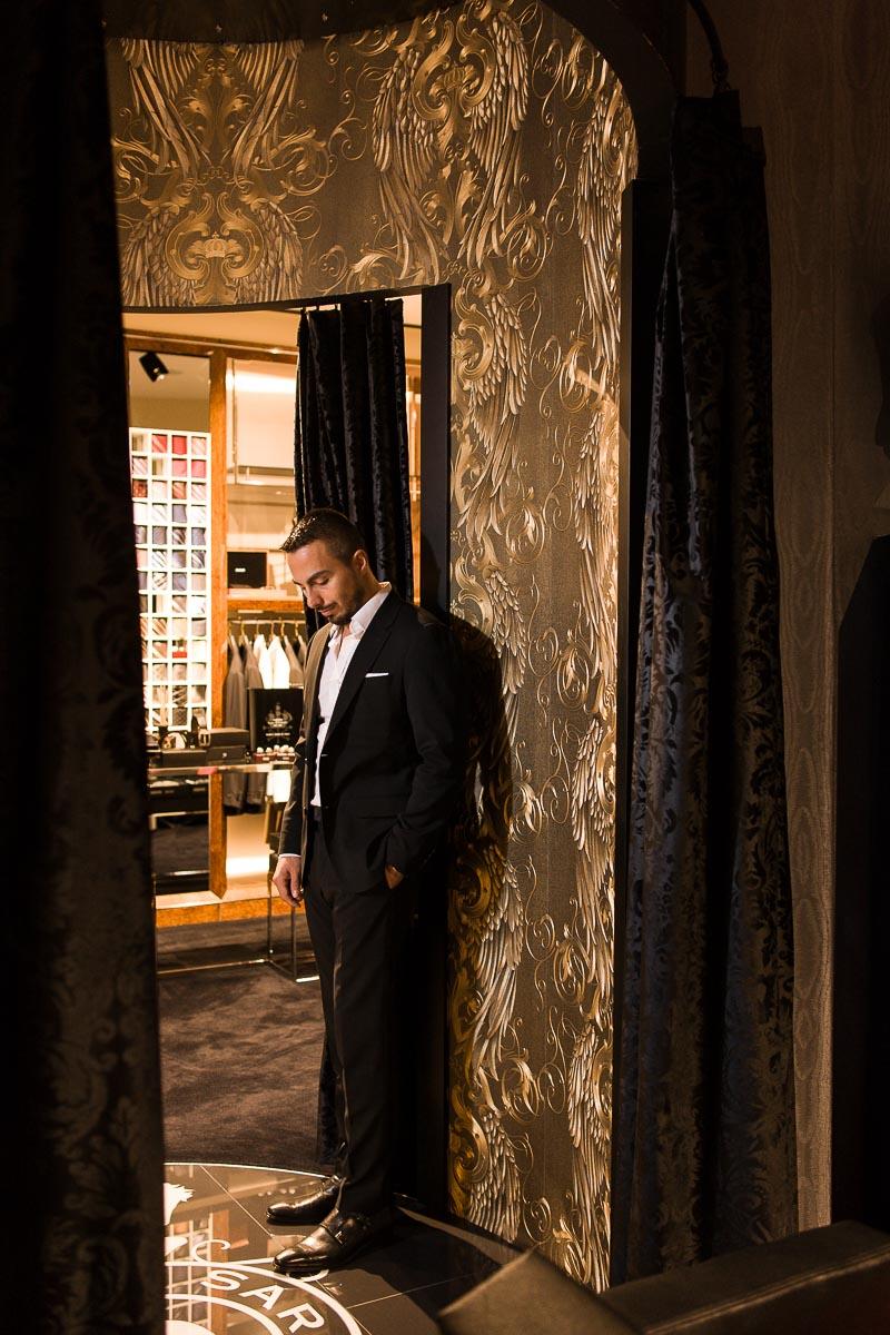Der Boutique-Besitzer Emir Sarar