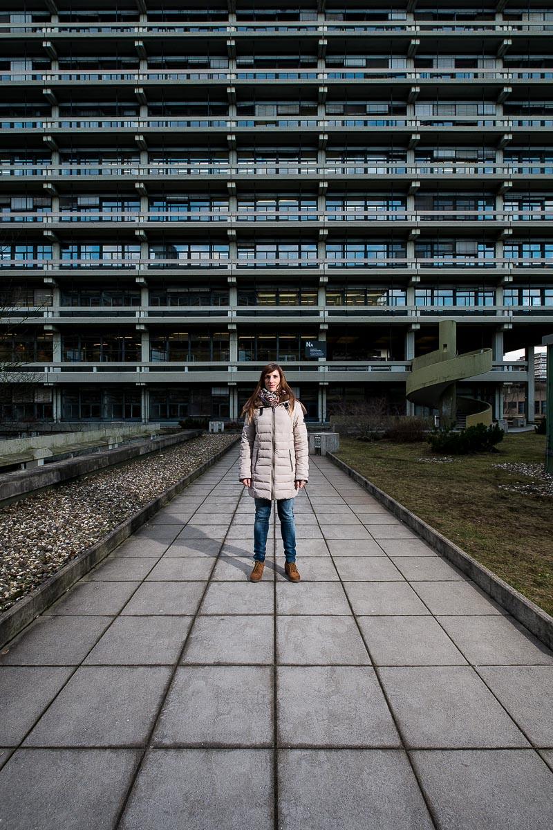 Alina Steffen an der Ruhruniversität Bochum