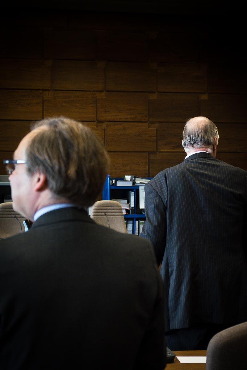 Prozeß gegen von Krockow und von Oppenheim Köln