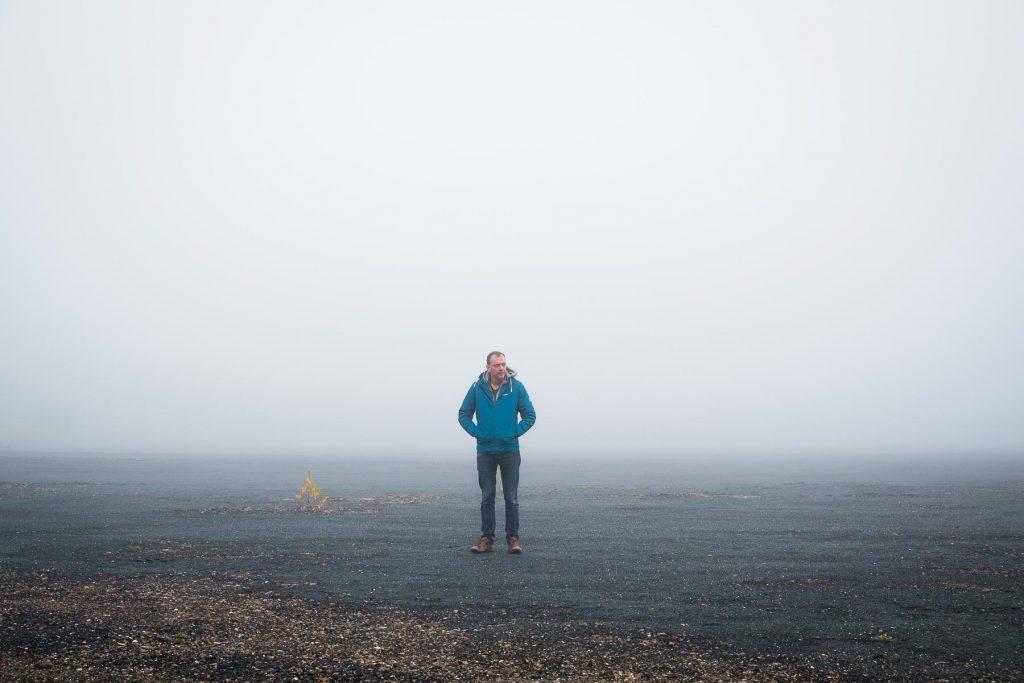 Das ist der Robert im Nebel
