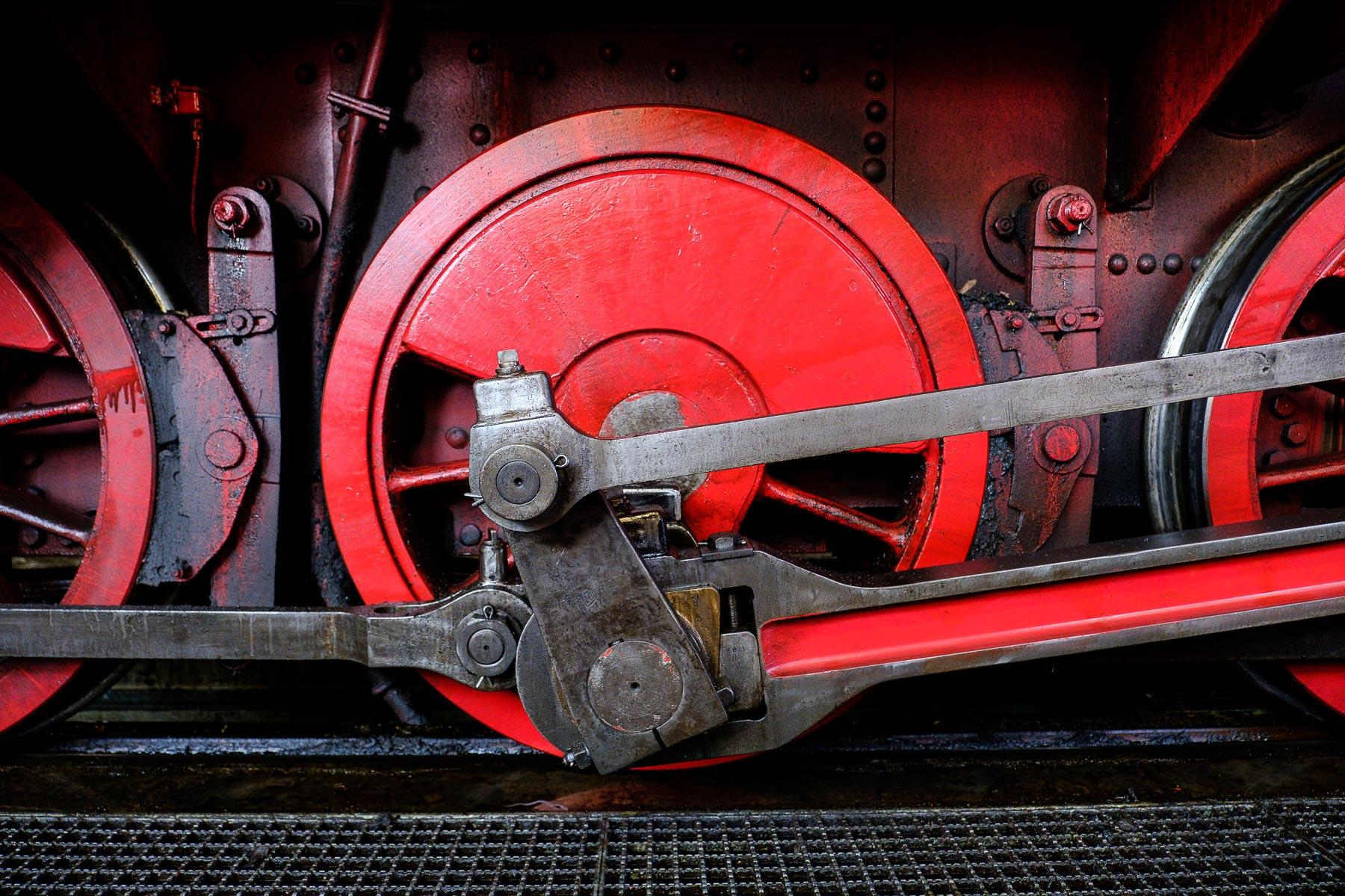 Der Schluff, historische Dampflokomotive in Krefeld