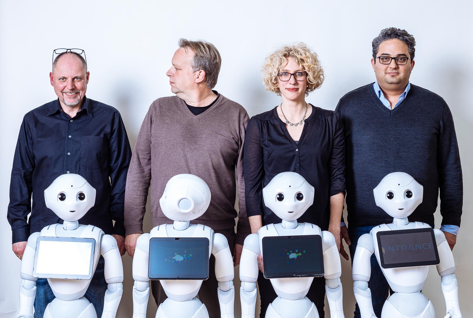 Team Entrance Robotics mit Pepper