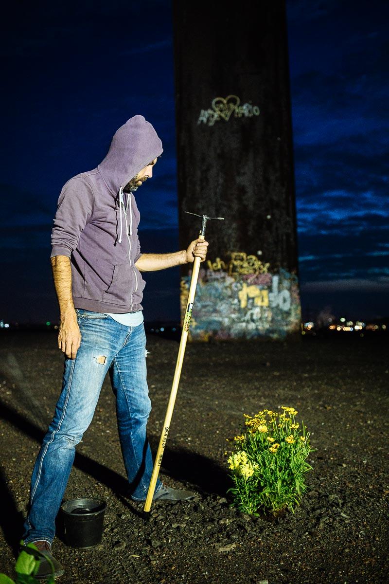 Reportage für das Kundenmagazin von Nissan über die Guerilla Gardening in Essen