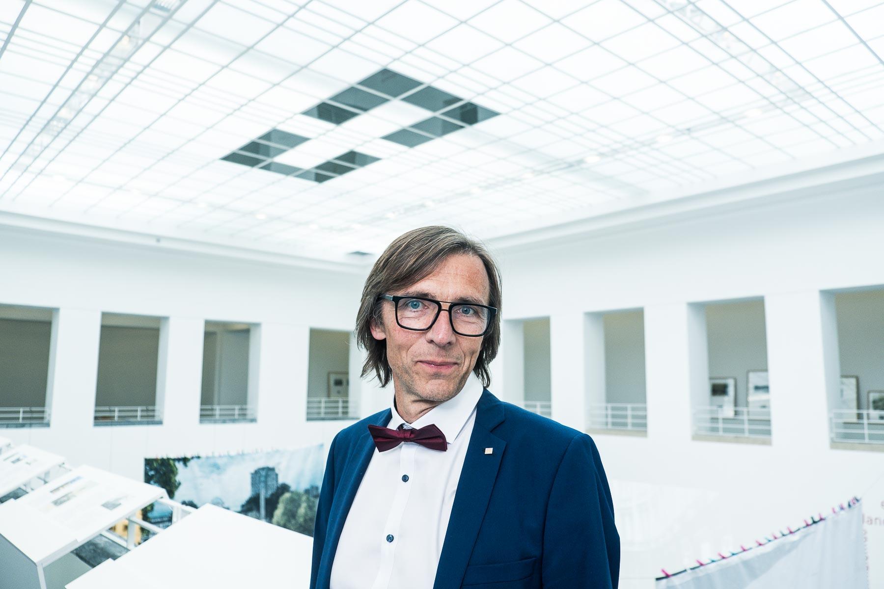 Der Architekt Viktor Nachtigall kandidiert für die Kammerwahl 2020